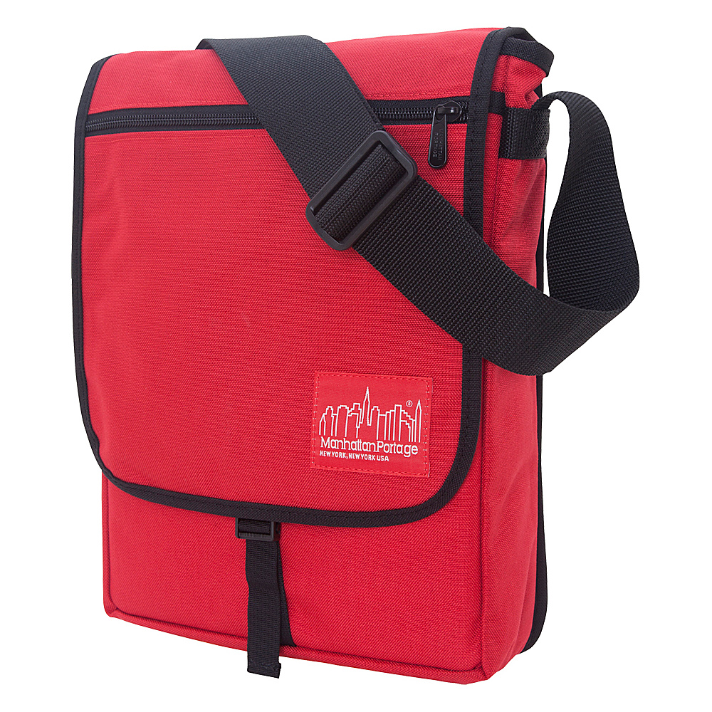 Manhattan Portage Manhattan Laptop Bag - Red - Work Bags & Briefcases, Messenger Bags
