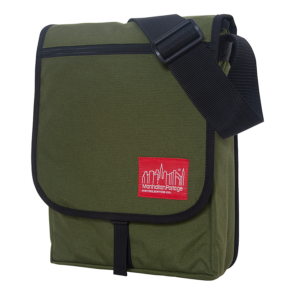 Manhattan Portage Manhattan Laptop Bag Olive - Manhattan Portage Messenger Bags - Work Bags & Briefcases, Messenger Bags