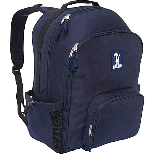 Wildkin Navy Blue Macropak Backpack - Navy Blue