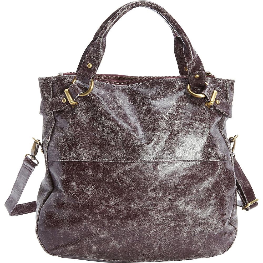 Latico Leathers Holly Tote Astro Purple - Latico Leathers Leather Handbags - Handbags, Leather Handbags