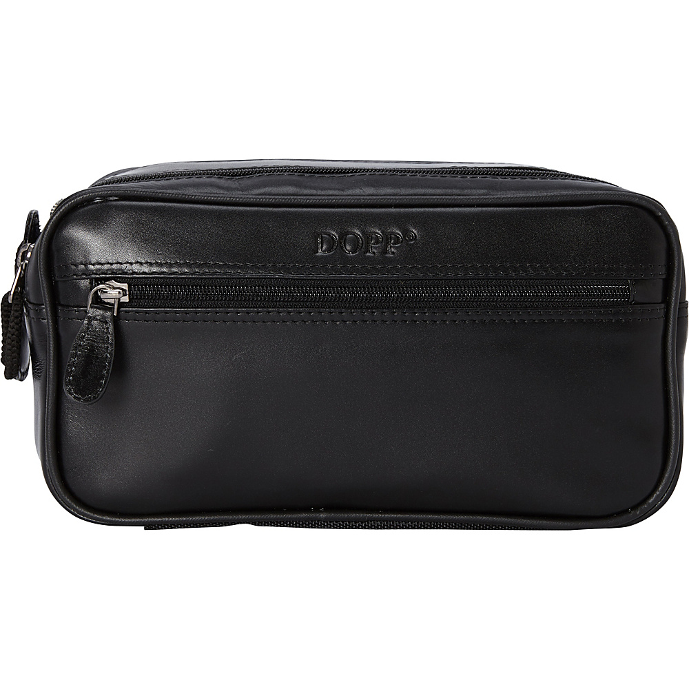Dopp Milan Soft Sided Multi-Zip Travel Kit - Black