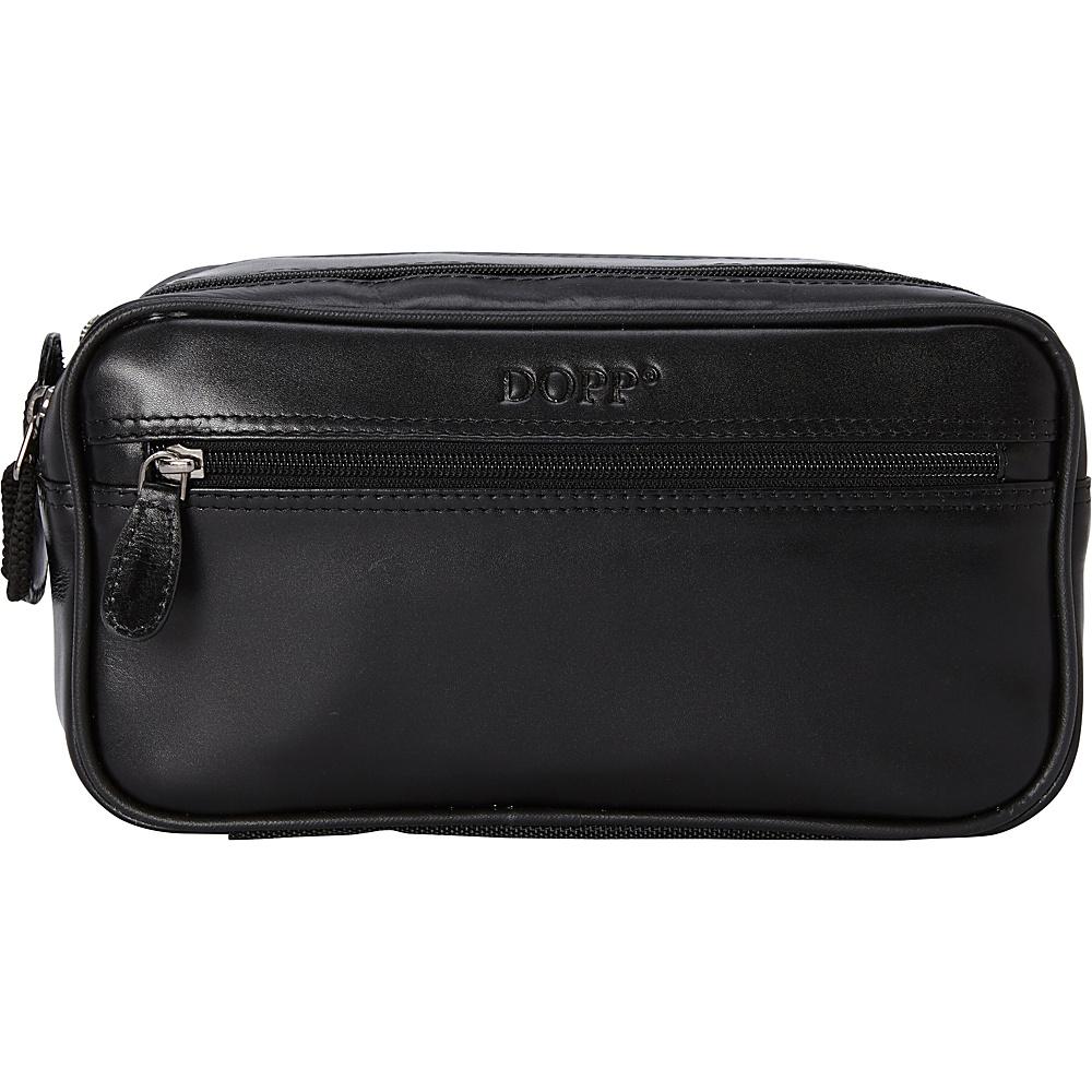 Dopp Milan Soft Sided Multi-Zip Travel Kit - Black - Travel Accessories, Toiletry Kits