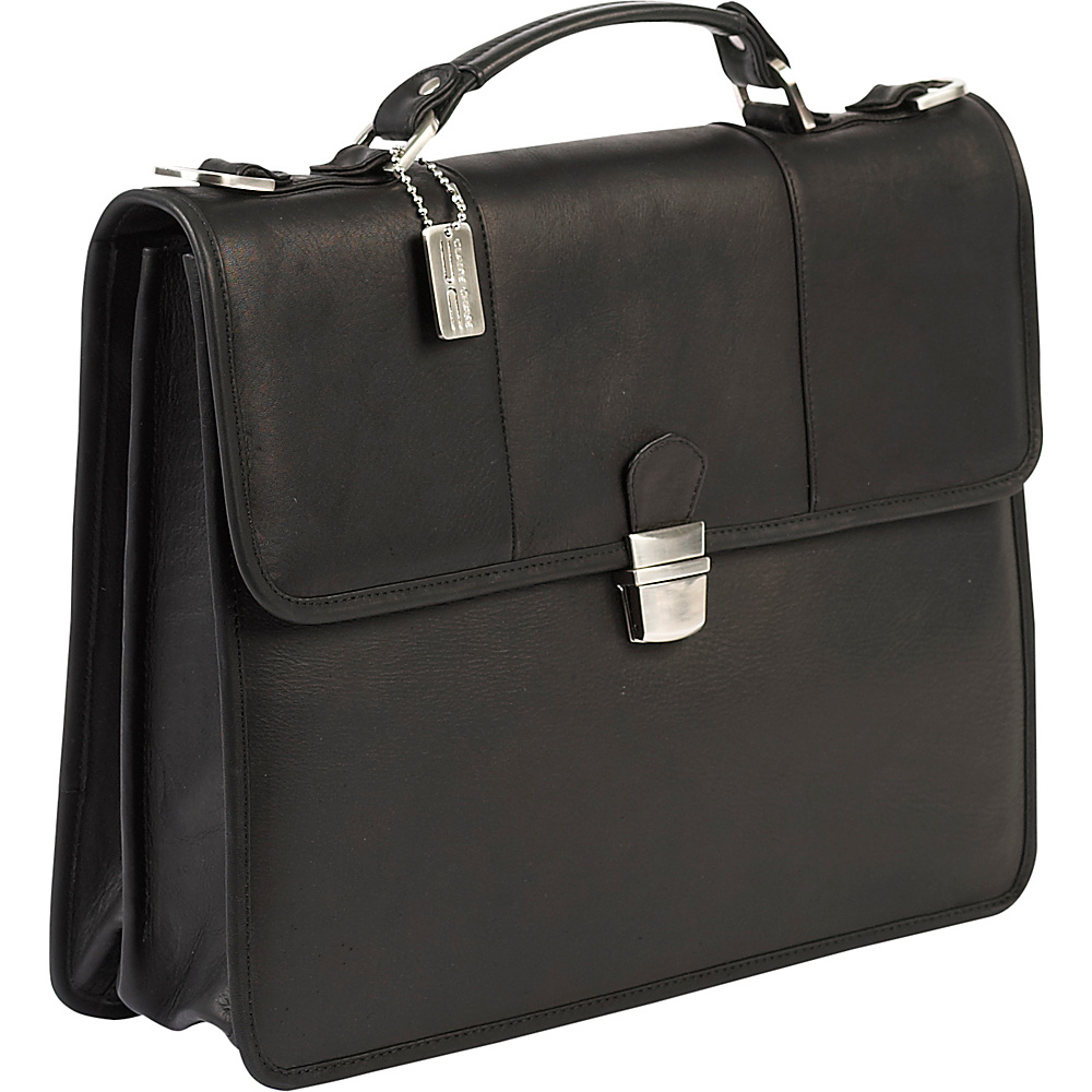 ClaireChase Tuscan Briefcase - Black - Work Bags & Briefcases, Non-Wheeled Business Cases
