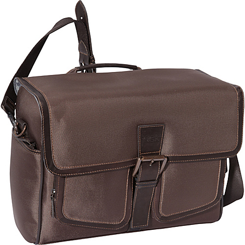 Jill-E Jack Small Camera Messenger Chocolate Brown - Jill-E Camera Cases