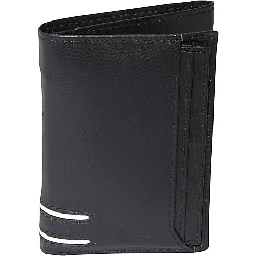 Buxton Luciano ID Threefold - RFID - Black