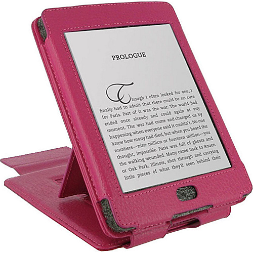 rooCASE Multi-View Leather Case for Amazon Kindle Touch