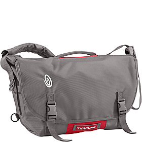 D-Lux Laptop Bondage Messenger - M Gunmetal/Rev Red/White