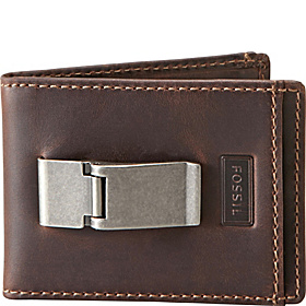 Sam ID Bifold Front Pocket Wallet Brown