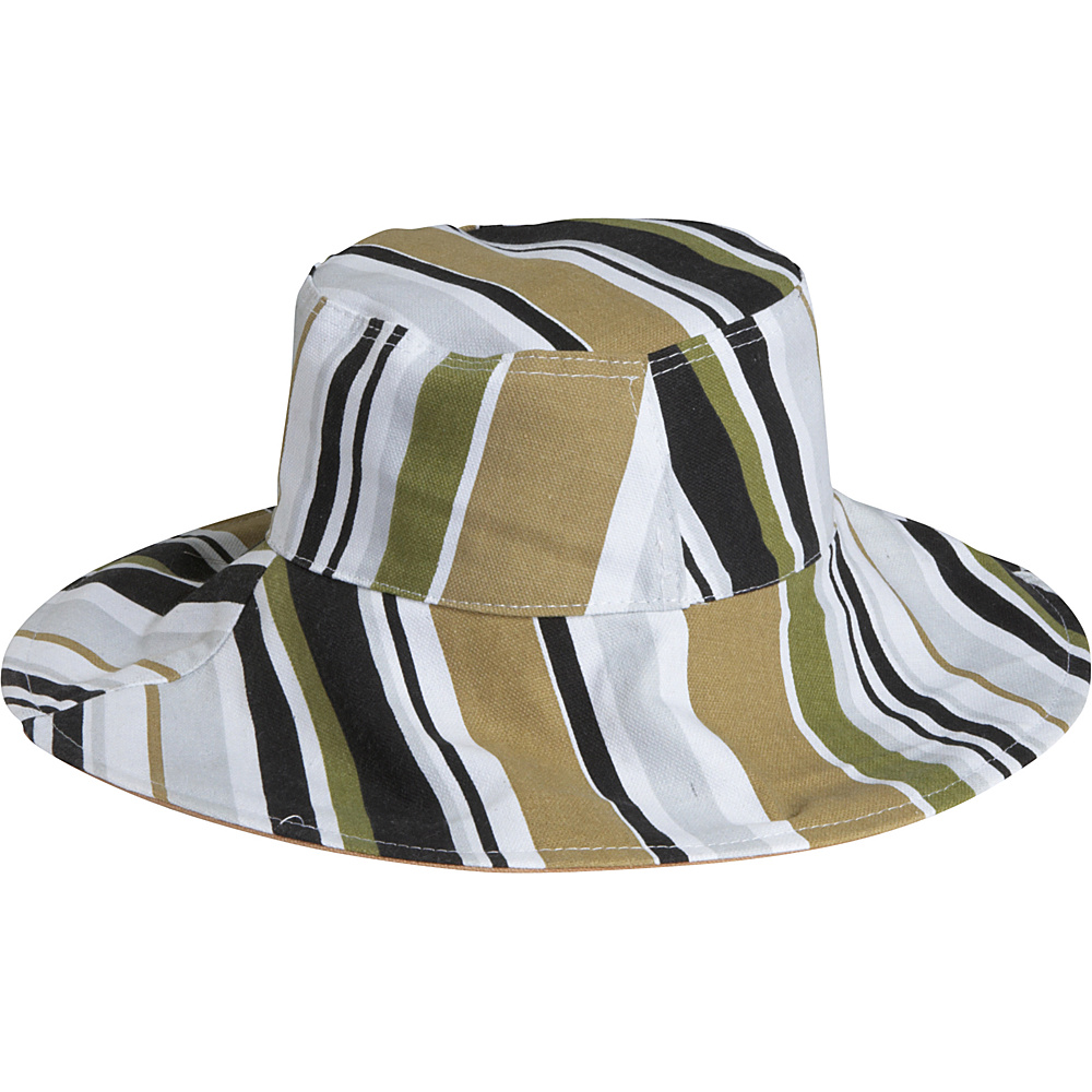 Magid Stripe Bucket Hat - Brown/multi - Fashion Accessories, Hats/Gloves/Scarves