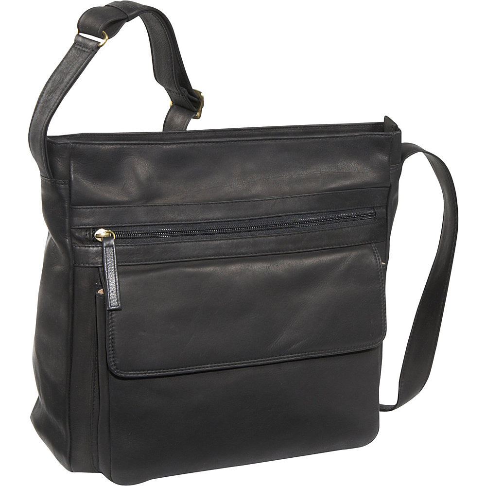 Derek Alexander Large Multi Compartment Shoulder Bag -
