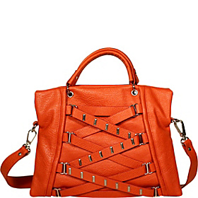 Hipster Satchel Orange Peel
