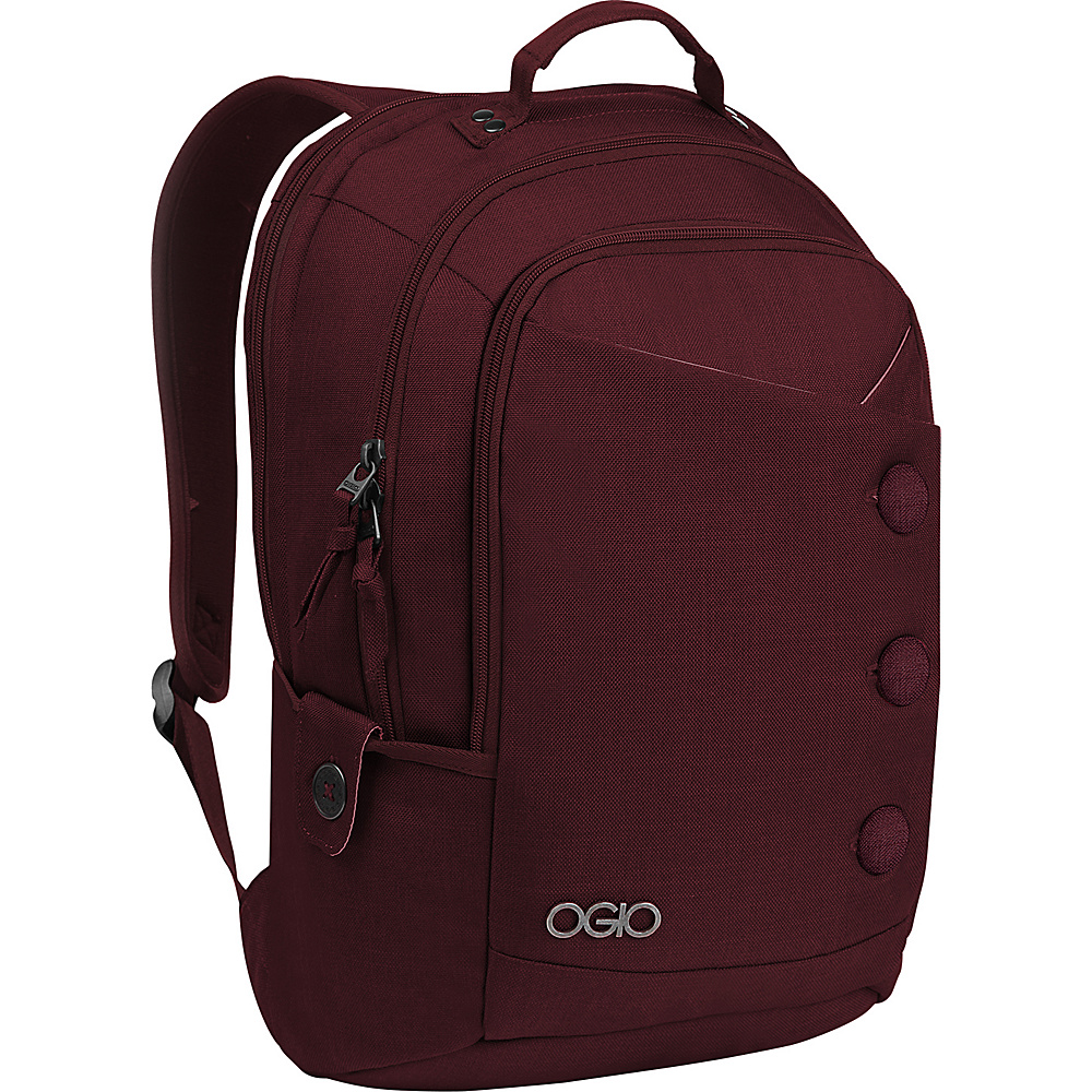 OGIO Soho Laptop Backpack Wine - OGIO Business & Laptop Backpacks