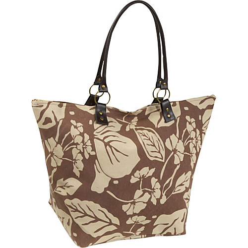 Bamboo 54 Rachel Bag Brown/Beige - Bamboo 54 Fabric Handbags