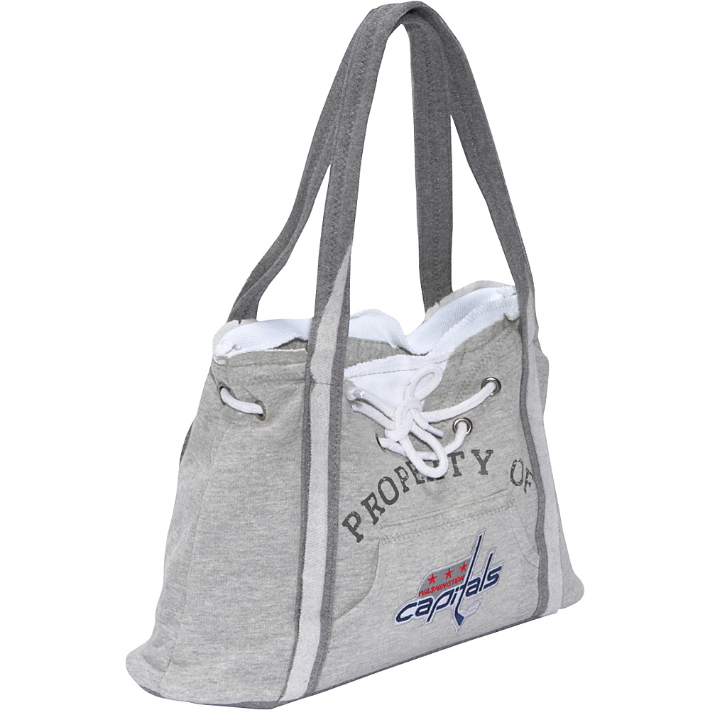 Littlearth NHL Hoodie Purse Grey/Washington Capitals Washington Capitals - Littlearth Fabric Handbags - Handbags, Fabric Handbags