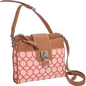 9 Jacquard Crossbody Tangerine Cream