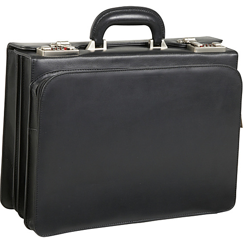 AmeriLeather APC Attache Leather Executive Briefcase -