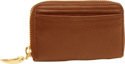 TUSK LTD Donington Gold Zip Coin/Card/Key Wood - TUSK LTD Women's Wallets