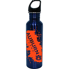 Auburn Tigers Water Bottle Blue