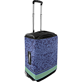 Large Luggage Cover - Violet Flowers Violet Flowers
