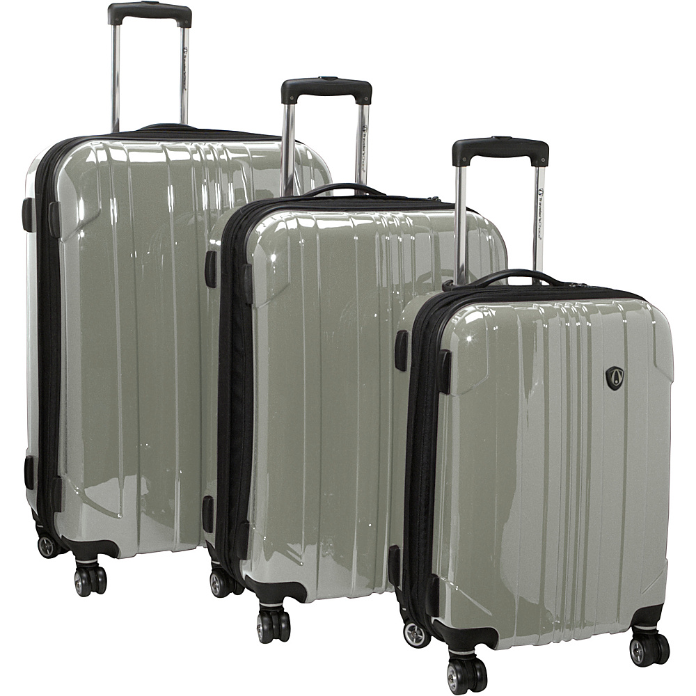 Travelers Choice Sedona 3-Piece Hardside Spinner Set - Luggage, Luggage Sets