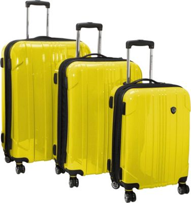 Traveler's Choice Luggage - Durable & Versatile Yellow Rolling ...