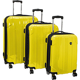 Sedona 3-Piece Hardside Spinner Set Yellow