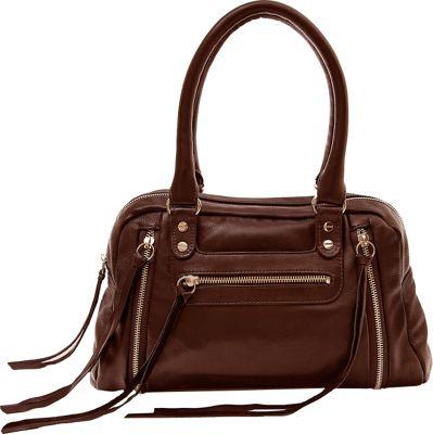 Jacki Easlick Jacki Satchel Cognac - Jacki Easlick Leather Handbags