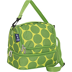 Big Dots Green Double Decker Lunch Bag Big Dots - Green