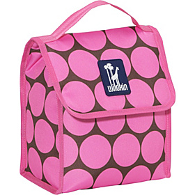 Big Dots Pink Munch 'n Lunch Bag Big Dots - Pink