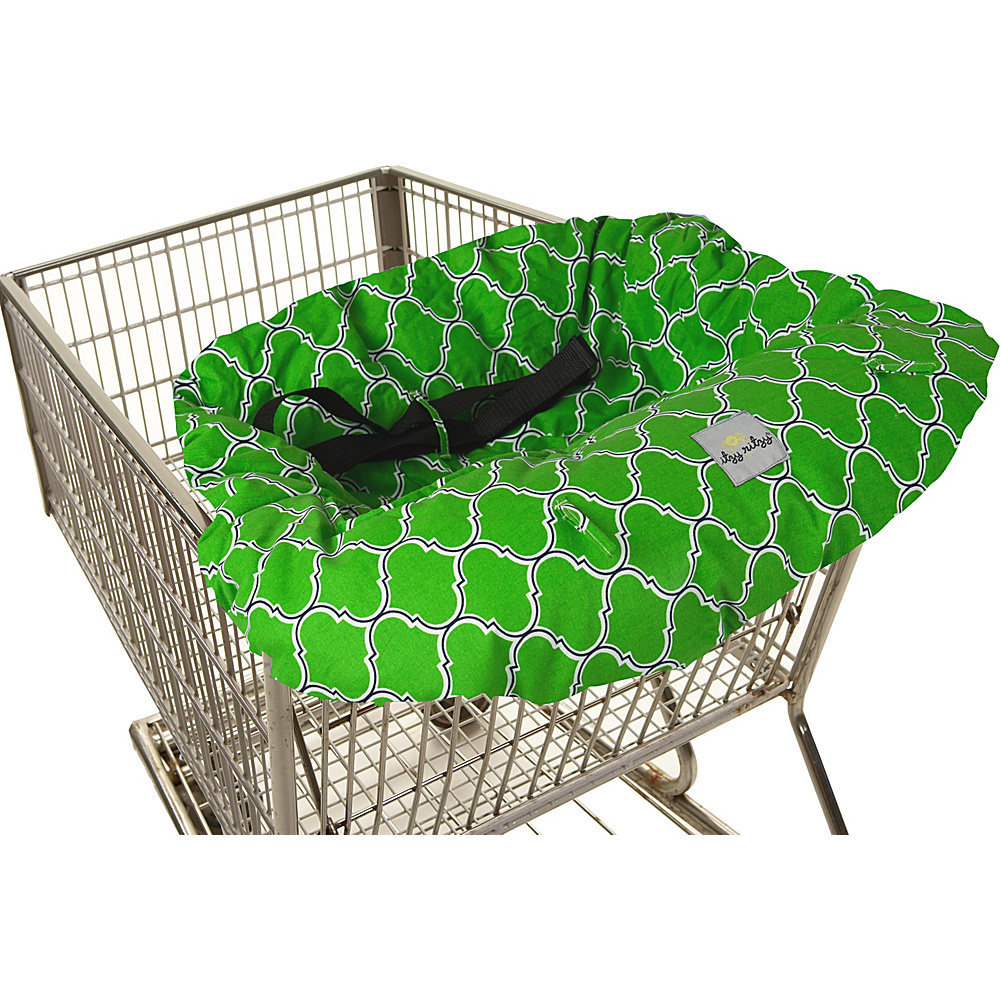 Itzy Ritzy Ritzy Sitzy Shopping Cart High Chair Cover Emerald Trellis Itzy Ritzy Diaper Bags Accessories