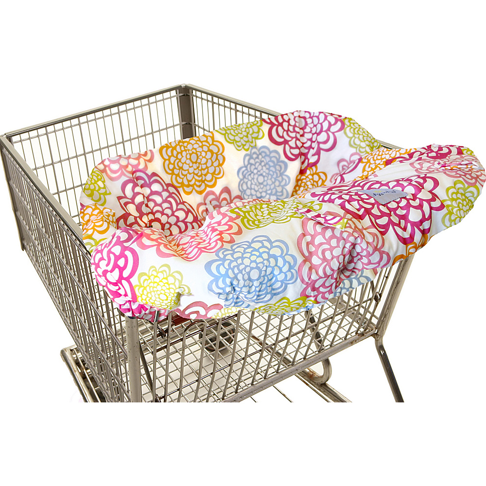Itzy Ritzy Ritzy Sitzy Shopping Cart High Chair Cover Fresh Bloom Itzy Ritzy Diaper Bags Accessories