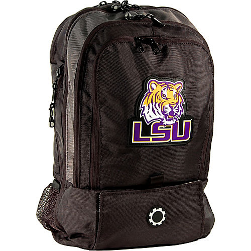 dadgear backpack collegiate series diaper bag louisiana state university. Black Bedroom Furniture Sets. Home Design Ideas