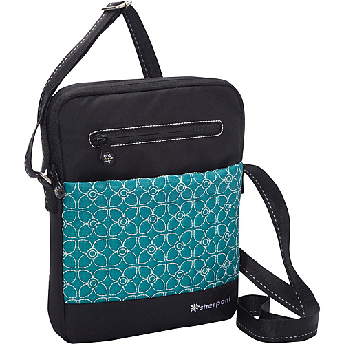 Sherpani Tablet Shoulder Bag Jade/ Black - Sherpani Women's Messenger Bags