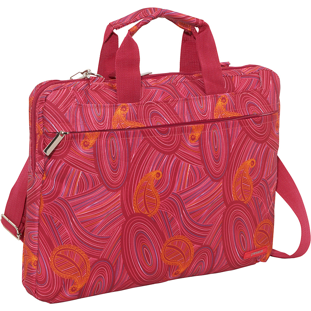 J World Jeanie Laptop Bag - Paisley - Work Bags & Briefcases, Non-Wheeled Business Cases