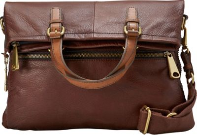 Fossil Explorer Tote Espresso - Fossil Leather Handbags