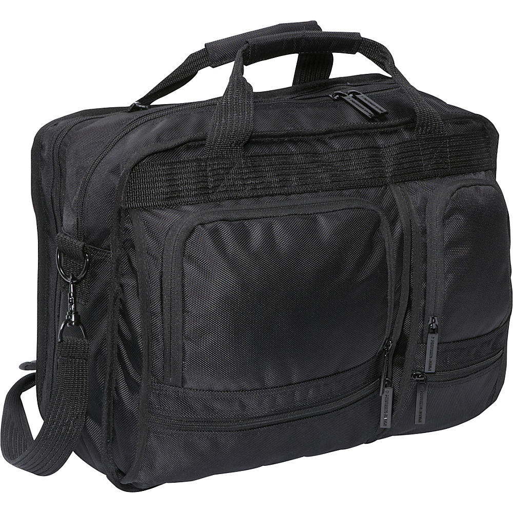 Bellino Scan Express Computer Brief - Black - Work Bags & Briefcases, Non-Wheeled Business Cases