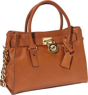 MICHAEL Michael Kors Hamilton 18k EW Satchel - Designer Handbag Gift