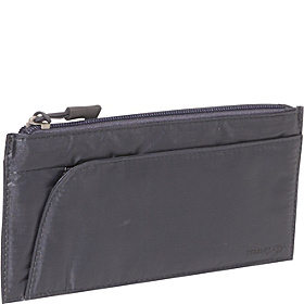 Safe ID Large Credit Card Wallet RFID Blocking Off Black