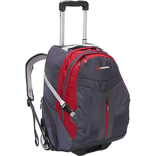 Caribee Time Traveler Red - Caribee Small Rolling Luggage
