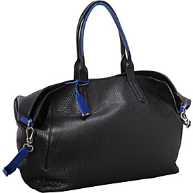 Crosby Leather Shopper Black