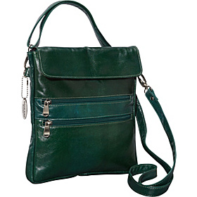 Florentine iPad Holder w/ Wrist & Shoulder Strap Green