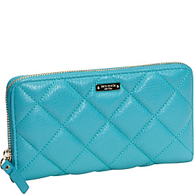 Gold Coast Lacey Zip Around Wallet Mid Teal