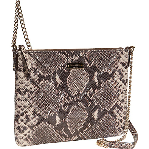 kate spade new york Gold Coast Ginnie Cross-Body Bag Natural Snake - kate spade new york Designer Handbags