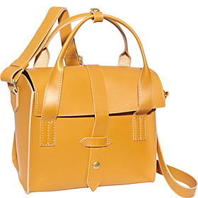 North More Flap Tab Satchel Mustard