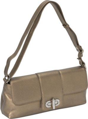 Derek Alexander EW Half Flap GOLD - Derek Alexander Leather Handbags