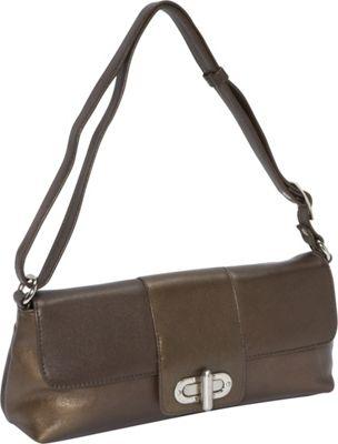 Derek Alexander EW Half Flap Bronze - Derek Alexander Leather Handbags