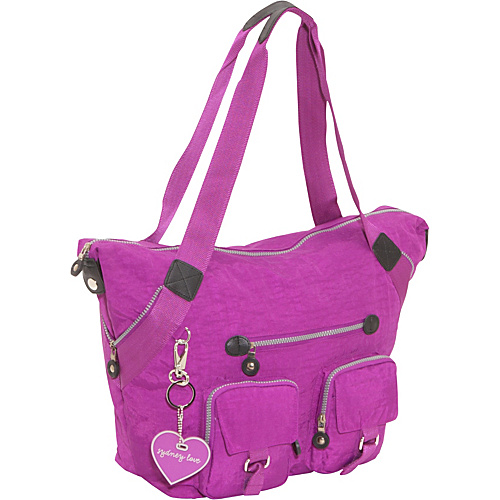 Sydney Love Sydney Love Sport Large Tote Purple - Sydney Love Fabric Handbags