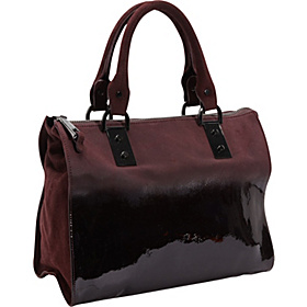 Boxing Day Satchel Burgundy