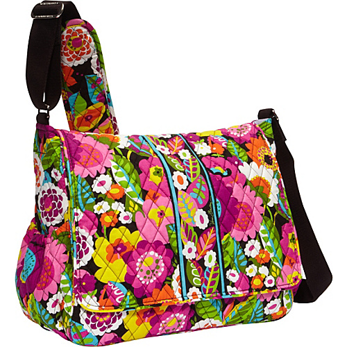 shoulder bags vera bradley messenger bags. Black Bedroom Furniture Sets. Home Design Ideas
