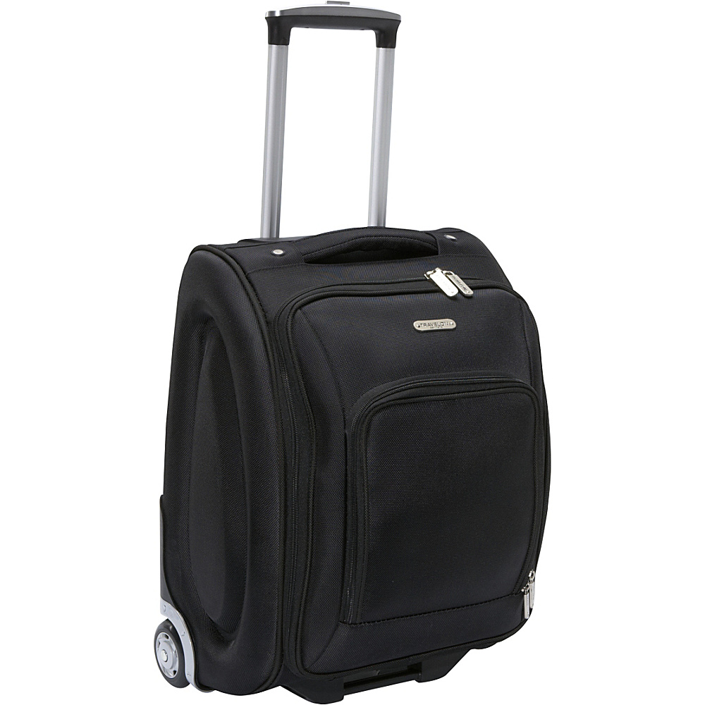 Travelon Wheeled Underseat Carry-On Luggage - 18 Black - Travelon Softside Carry-On - Luggage, Softside Carry-On